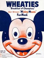 "Walt Disney's ""Mickey Mouse"" Fun Mask 