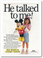 He Talked To Me! | Print Ads