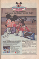 Let Oreo Cookies Put You In The Mickey Mouse Club! | Print Ads