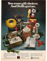 You Want Gift Choices. And Bell's Got Them. | Print Ads