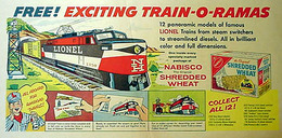 Free Exciting Train-O-Ramas | Print Ads