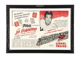 The Greatest Advertising Campaign In Lionel History! Plus The Joe DiMaggio Lionel Club House Television Show! | Print Ads