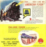 """Gee Dad ... Just Like My American Flyer""! 