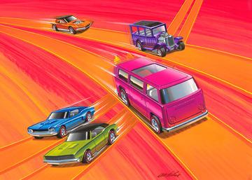 Hot Wheels Packaging Drawing   Drawings & Paintings