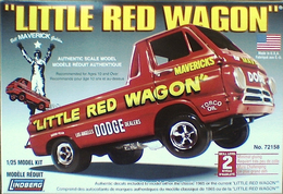 'Little Red Wagon' | Model Racing Car Kits
