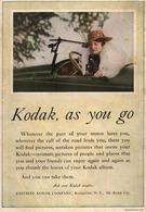 Kodak, As You Go | Print Ads