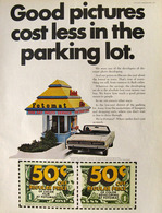 Good Pictures Cost Less In The Parking Lot. | Print Ads