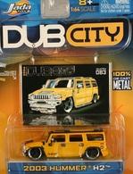 Jada dub city 2003 hummer h2 model cars fca59811 44a8 4b0e bcec 72badc316267 medium