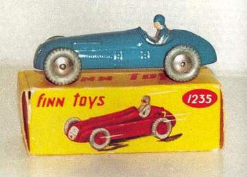 Finn Toys Blue Racer | Model Cars