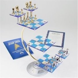 Star Trek Tri-Dimensional Chess Set | Chess Sets and Boards