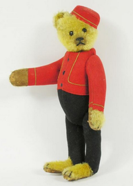Yes/No Teddy Bear Bellhop | Plush Toys
