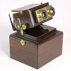 Smith, Beck and Beck Achromatic Stereoscope | Stereoscopic Viewers