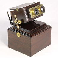 Smith, Beck & Beck Achromatic Stereoscope | Stereoscopic Viewers
