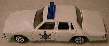 The Dukes of Hazzard Pontiac Bonneville Police  | Model Cars