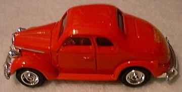 1937 Dick Tracy Plymouth | Model Cars