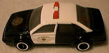 1991 Ford Taurus Police Car  | Model Cars