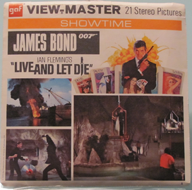 James Bond Live and Let Die | View-Master Reels