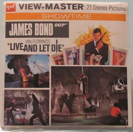 James Bond Live And Let Die | View-Master Reels
