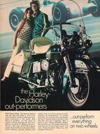 The Harley-Davidson Out-Performers | Print Ads