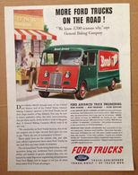 More Ford Trucks On The Road! | Print Ads