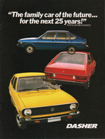 """The Family Car Of The Future ... For The Next 25 Years!"" 