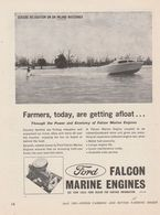 Farmers, Today, Are Getting Afloat | Print Ads