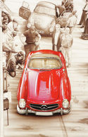 Mercedes 300SL | Postcards