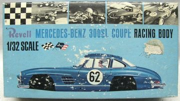 1965 Mercedes-Benz 300 SL | Model Car Kits