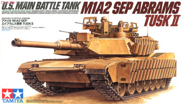 U.S. M1A2 SEP Abrams TUSK II | Model Military Tank and Armored Vehicle Kits