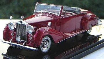 1950 Rolls Royce Silver Wraith Roadster | Model Cars