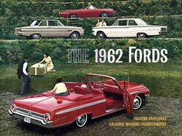 The 1962 Fords | Print Ads