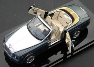 2007 Rolls Royce Phantom Drophead Coupe | Model Cars