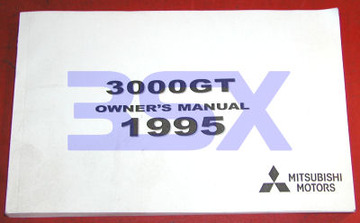 Owners Manual Mitsubishi 3000GT | Manuals and Instructions