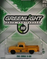 Greenlight collectibles country roads%252c country roads 9 1965 dodge d 100 model cars b725f143 559b 40ca a5b1 9ef0ff904777 medium