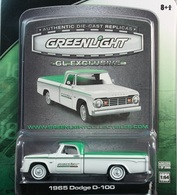 Greenlight collectibles 1965 dodge d 100 model cars 9083edf9 1b1b 45f2 95b3 18b6c1a999fe medium