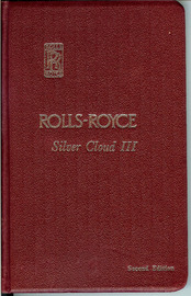 Rolls-Royce Silver Cloud III Owner's Manual | Manuals & Instructions