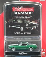 Greenlight collectibles auction block%252c auction block 9 1966 shelby gt 350 model cars 34a50161 97a4 49a9 9084 343c6b596214 medium
