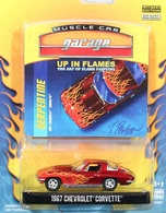 Greenlight collectibles up in flames%252c up in flames 2 1967 chevrolet corvette model cars b4079be2 4ec5 49de b2a2 5b11db1040b2 medium