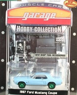Greenlight collectibles muscle car garage hc%252c muscle car garage hc 2 1967 ford mustang coupe model cars d7069502 c70d 457a 8269 d5ee018a381a medium
