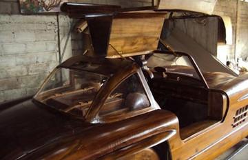 Wooden 1:1 Mercedes 300SL Gullwing  | Model Cars