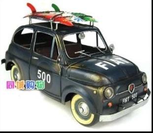 1968 Fiat 500L   Model Cars