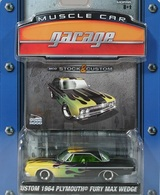 Greenlight collectibles muscle car garage%252c muscle car garage 4b custom 1964 plymouth fury max wedge model cars 962adc27 3792 48ec 8a00 77ab7ceb5828 medium