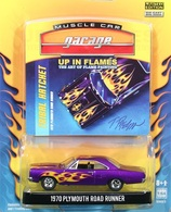Greenlight collectibles up in flames%252c up in flames 2 1970 plymouth road runner model cars b14f0154 f4da 4ec3 8d33 26f5b7805212 medium