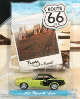 Greenlight collectibles route 66%252c route 66 1 1971 plymouth cuda model cars 59187c0b 8950 460a 932b 91bbbb7dde47 medium