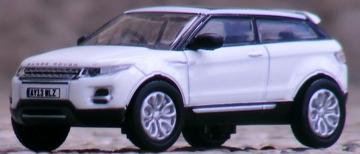 Oxford Diecast Land Rover Range Rover Evoque | Model Cars | Oxford Diecast 1:76 scale Land Rover Range Rover Evoque