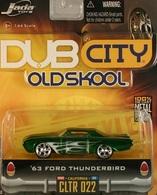 63 Ford Thunderbird | Model Cars