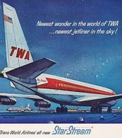 Newest Wonder In The World Of TWA ... Newest Jetliner In The Sky | Print Ads