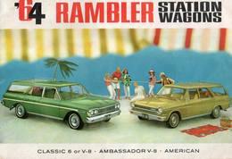 1964 Rambler Station Wagons | Print Ads