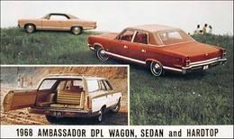 1968 Ambassador DPL Wagon, Sedan, and Hardtop  | Print Ads