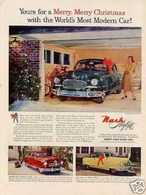 Yours For A Merry, Merry Christmas With The World's Most Modern Car! | Print Ads